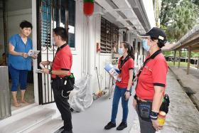 Social distancing ambassadors also fighting dengue