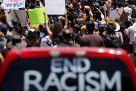 Protest against racial inequality