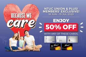 More discounts for Plus!, NTUC Union members at FairPrice