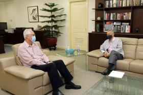 Emeritus Senior Minister Goh Chok Tong, 79, who was prime minister from 1990 to 2004, announced his decision in a letter to Prime Minister Lee Hsien Loong on Wednesday.