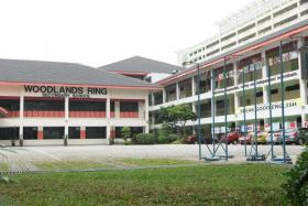 Upgrading works at Woodlands Ring Secondary School, initially planned to start in January 2021, will only start a year later in January 2022 due to delays in sprucing works at its holding site.