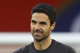 Mikel Arteta.