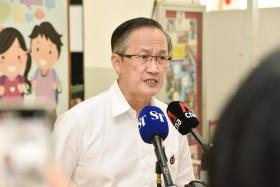 People's Action Party Member and Candidate for the General Election 2020 Lim Biow Chuan.