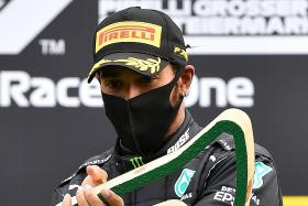 Lewis Hamilton wins Styrian Grand Prix in Mercedes one-two