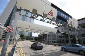 ERP charges of $1 at three CTE gantries from Monday