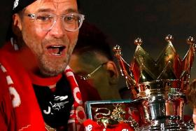 Juergen Klopp guided Liverpool to their first English league title in 30 years, wrapping up the English Premier League with a record seven games remaining.