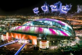 Qatar has hosted last year's World Athletics Championships at the Khalifa International Stadium, which will also be one of the venues for the 2022 World Cup.