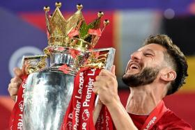 Adam Lallana (above), who has signed for Brighton & Hove Albion, becomes the second player to leave EPL champions Liverpool after Dejan Lovren's move to Zenit Saint Petersburg.