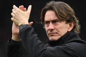 Brentford manager Thomas Frank has guided his side to two victories over Fulham in the Championship this season.