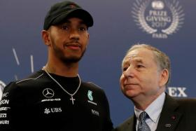 Ex-Ferrari boss Jean Todt (right) says his former protege Michael Schumacher and current   Mercedes driver Lewis Hamilton (left) shares a special fighting spirit.