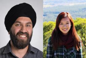 Mr Dilpreet Singh and Ms Regine Lau.