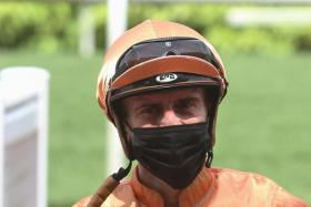 Jockey Vlad Duric.