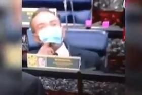 Malaysian Foreign Minister sorry for vaping in Parliament