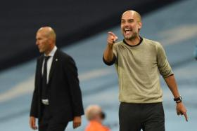 Pep Guardiola's side will face Lyon in the next week's Champions League quarter-finals after masterminding a victory over Zinedine Zidane's Real Madrid.