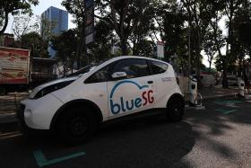 Car-sharing service BlueSG hits 1 million vehicle rentals