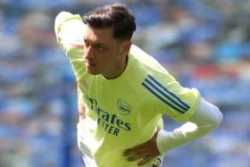"Mesut Oezil has been frozen out by Arsenal boss Mikel Arteta over ""footballing"" reasons."