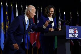 Biden, Harris launch campaign with vow to 'rebuild' post-Trump US