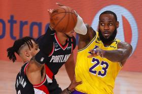 Top seeds LA Lakers, Milwaukee Bucks stumble in NBA play-offs