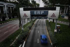 ERP charges to go up by $1 at two CTE gantries from Aug 31