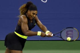 Serena Williams lost 5-7, 7-6 (7/5), 6-1 to Maria Sakkari in the round of 16 of the Western and Southern Open.