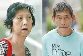 Dishwasher Tan Hwee Ngo, 71, convinced Mr Tan Soy Kiang, 76, who has mild intellectual disability, to withdraw his entire CPF savings.