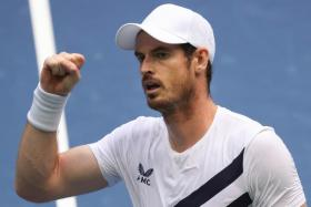 Andy Murray (above) took four hours 38 minutes to overcome Yoshihito Nishioka in the US Open first round on Tuesday.