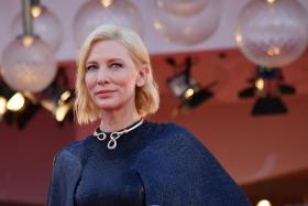 President of the 'Venezia 77' jury Australian actress Cate Blanchet arrives for the opening ceremony and screening of 'Lacci' at the 77th annual Venice International Film Festival, in Venice, Italy, 02 September 2020.