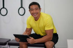 Gym owner receives MCCY grant for individualised fitness app