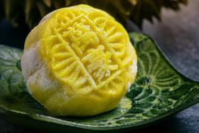 Royal Durian Singapore's limited-edition Mao Shan Wang mooncakes ($118).