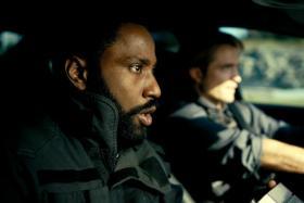 John David Washington (left) and Robert Pattinson in Tenet