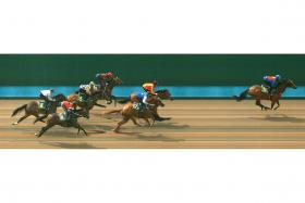 Costeau works towards a win