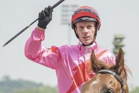 Powell beats cancer, raring to return to riding at Kranji