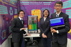 Ngee Ann Poly students honoured for efforts to improve recycling