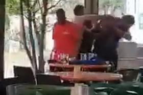 Man taken to hospital after fight in coffee shop