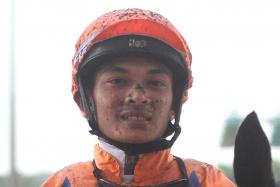 Apprentice jockey Hakim Kamaruddin will miss this Saturday's Kranji meeting because of his suspension.