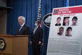 US charges five Chinese people, two Malaysians for alleged hacking