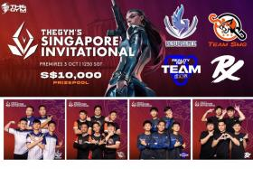 The Gym Singapore Invitational has a prize purse of $10,000