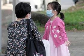Children under six do not have to wear face mask from Monday: MOH