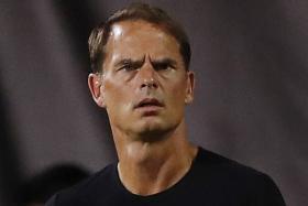 Frank de Boer set to be Holland coach