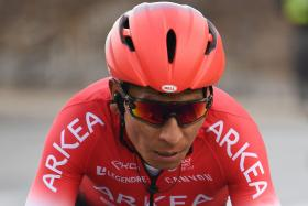 Tour de France rider whose teammate were detained denies doping