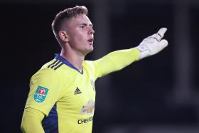 Dean Henderson has makings of Manchester United's No. 1: Fletcher