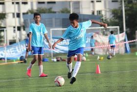 Lion City Sailors Football Academy earns AFC's one-star rating
