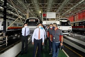 LTA buys 40 new trains for two oldest MRT lines