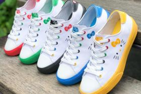 V'lites from the Skechers X Hello Kitty Collection