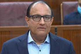 Minister for Communications and Information S. Iswaran (above).