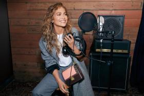 The Coach x Jennifer Lopez Hutton bag