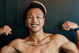 Drag queen takes on Mr World Singapore title