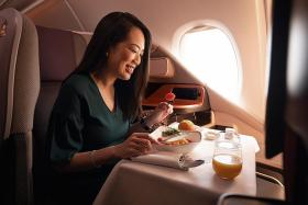 SIA adds more lunch and dinner sessions for A-380 experience