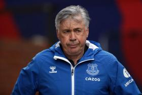 Everton manager Carlo Ancelotti has guided the Toffees to a perfect record after four EPL games.
