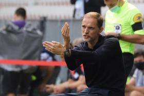 Paris Saint-Germain coach Thomas Tuchel could be without as many as eight players for next week's Champions League clash against Manchester United.